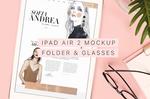 Beautiful and Trendy iPad Air 2 Mockup