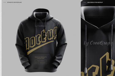 Men's Hoodie Mockup Set by theanthnonyrich