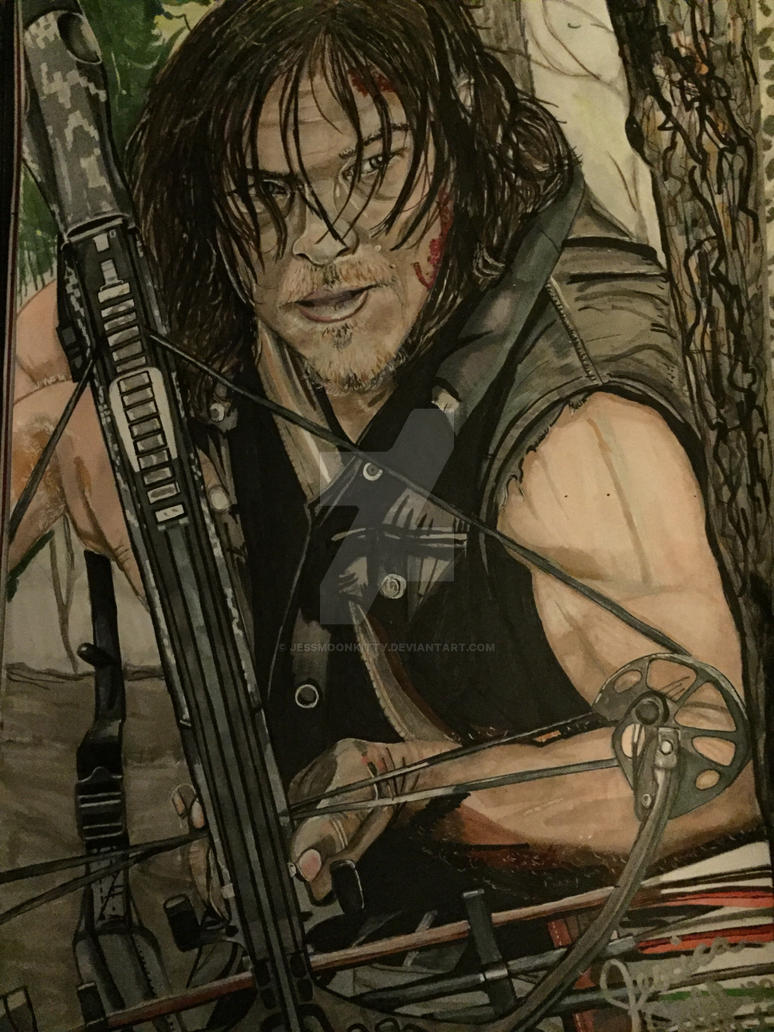 Daryl Dixon  by JessMoonKitty