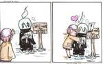 Will work for Hugs