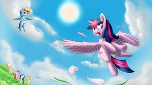 Princess's Flying practice