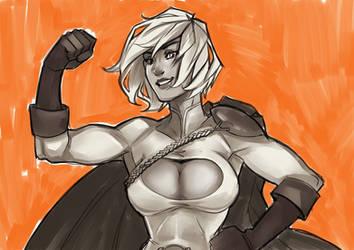Powergirl by AlexKendaoh