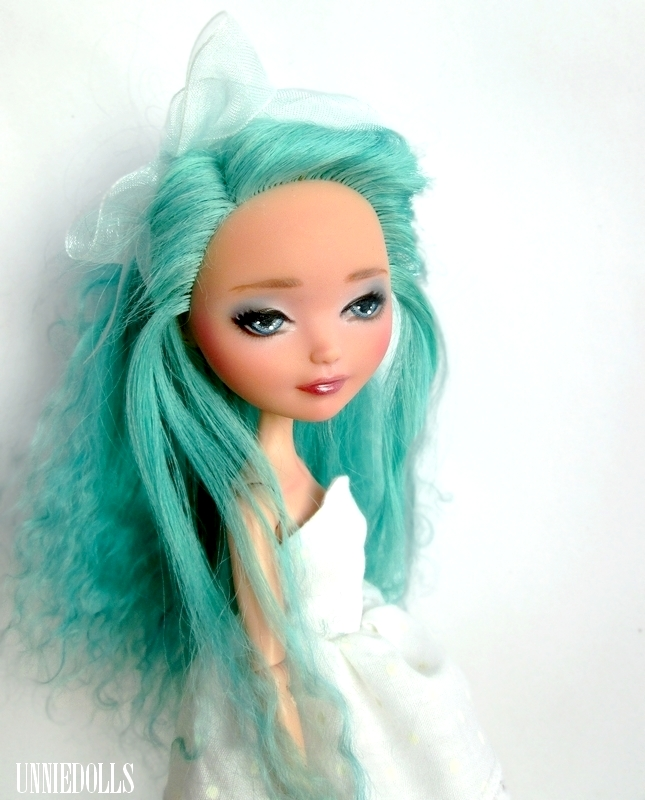 Isey (OOAK Ever After High Doll) - Madeline Hatter by Katalin89