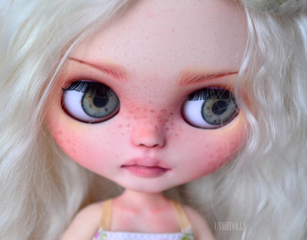 Sally (OOAK Custom Blythe doll) by Katalin89 on DeviantArt