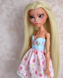 OOAK Custom Monster High doll - Nefera De Nile