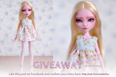 Celebrating with a doll GIVEAWAY