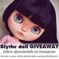 Blythe doll GIVEAWAY