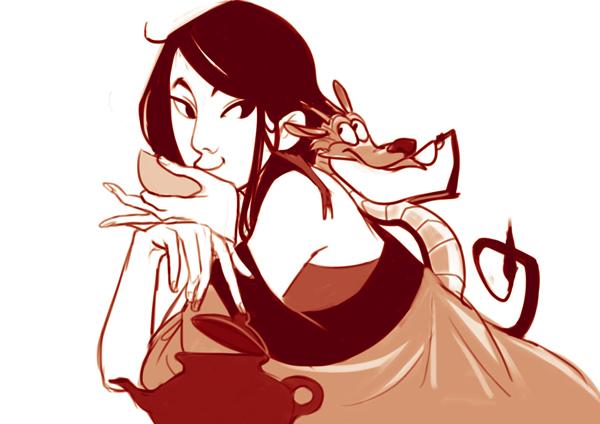 Mulan by Aloira