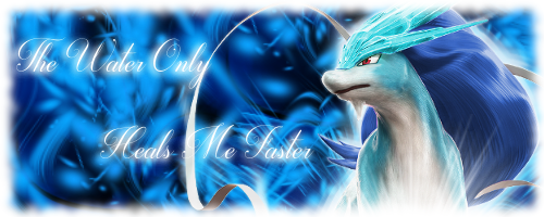 Shiny Suicune Banner by KalyxArmada