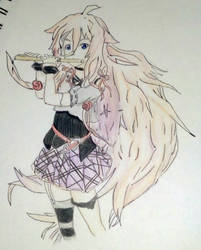 IA~Vocaloid by XblackpaperstarX