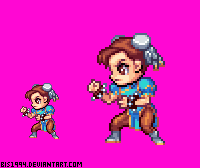Chun-Li Versus Series by bis1994