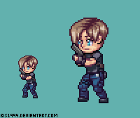 Leon Resident Evil 4 by bis1994