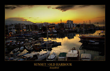 Sunset at Old Harbour by dizaynbaz