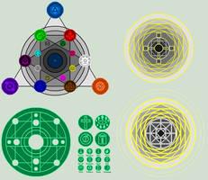 NA spell circles by RayOketa