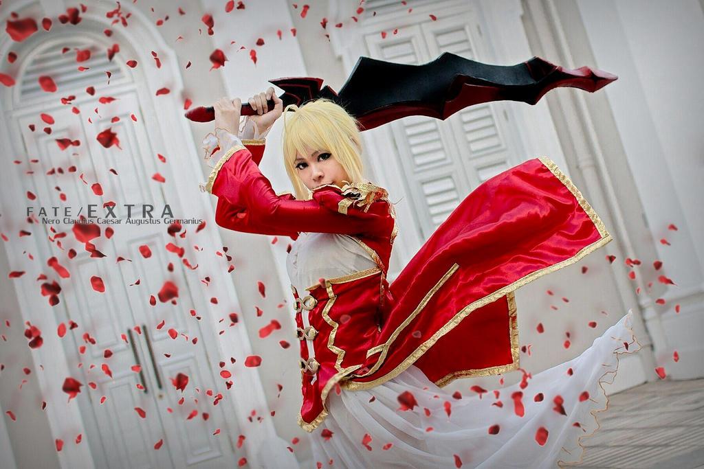 Fate/EXTRA -  Nero Claudius Caesar by KURA-rin