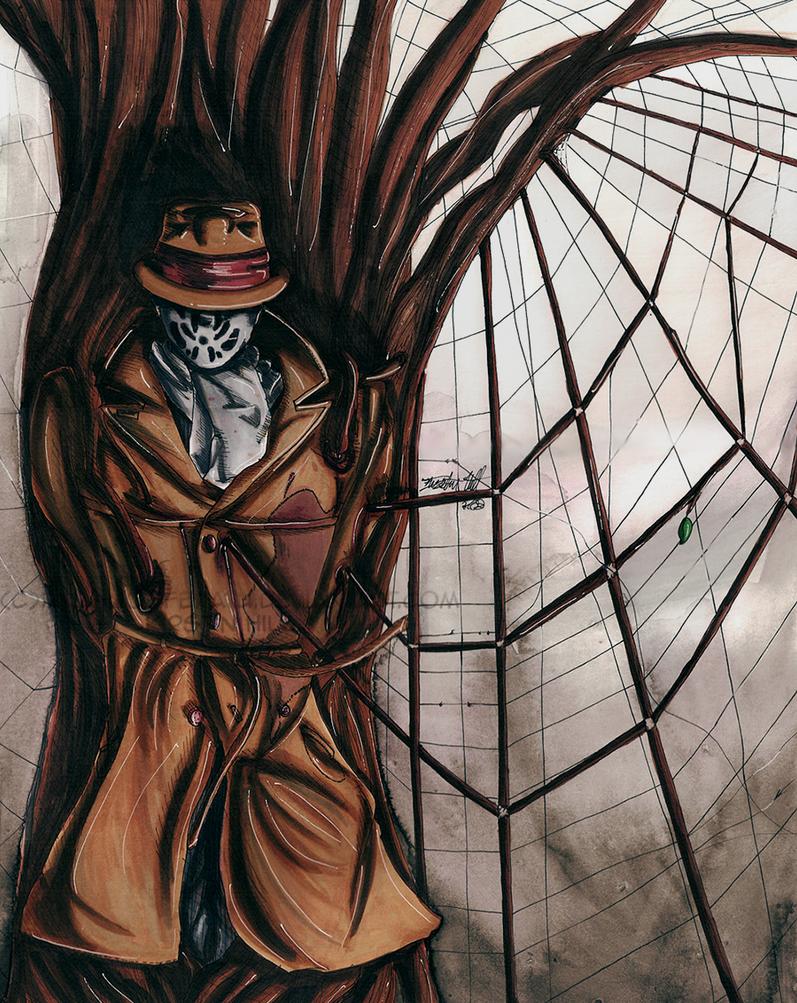 Surreal Watchmen: Rorschach by ikka-nosferatu