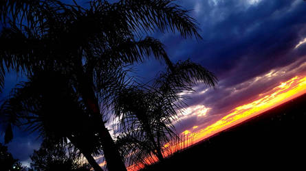 Groomy Sunset by SuicidalBlackBerry