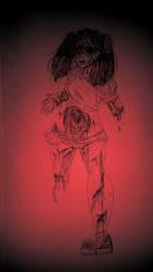 School Girl (GORE WARNING) by SuicidalBlackBerry