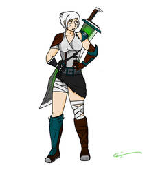 League of Legends Riven by Baml