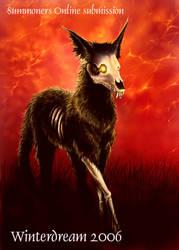 Card 1:Hellhound by Winterdreamer