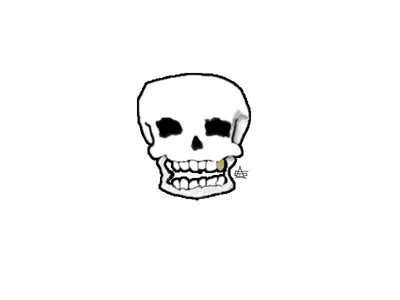 Skeleton by PizzaGreen