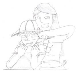 Cody and Meri by Kidcodychan