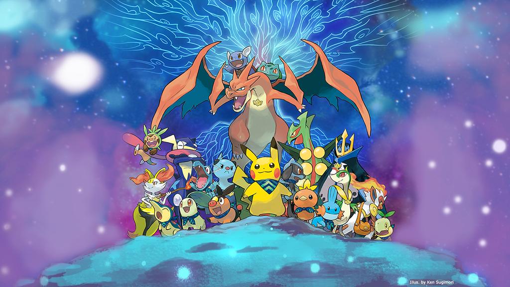 pokemon super mystery dungeon desktop background by