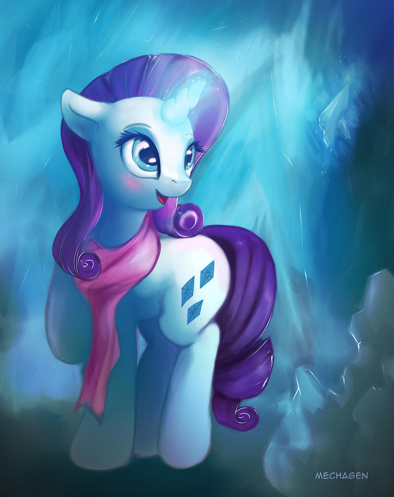 Winter crystal by Mechagen