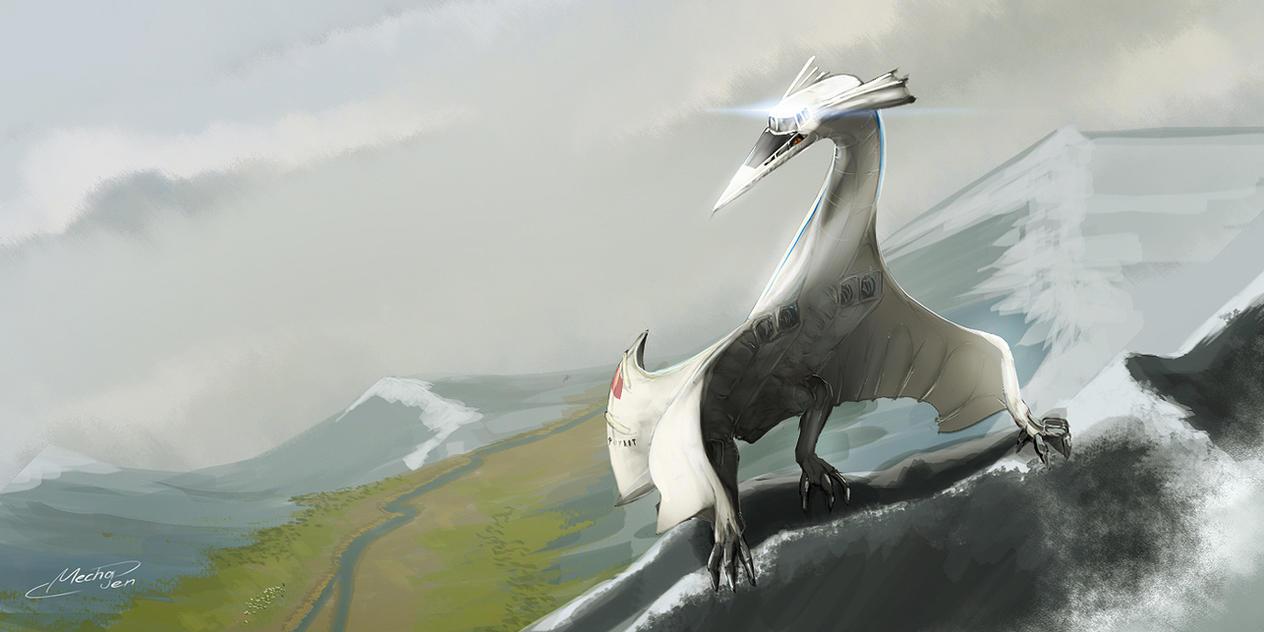 Ancient Bird by Mechagen