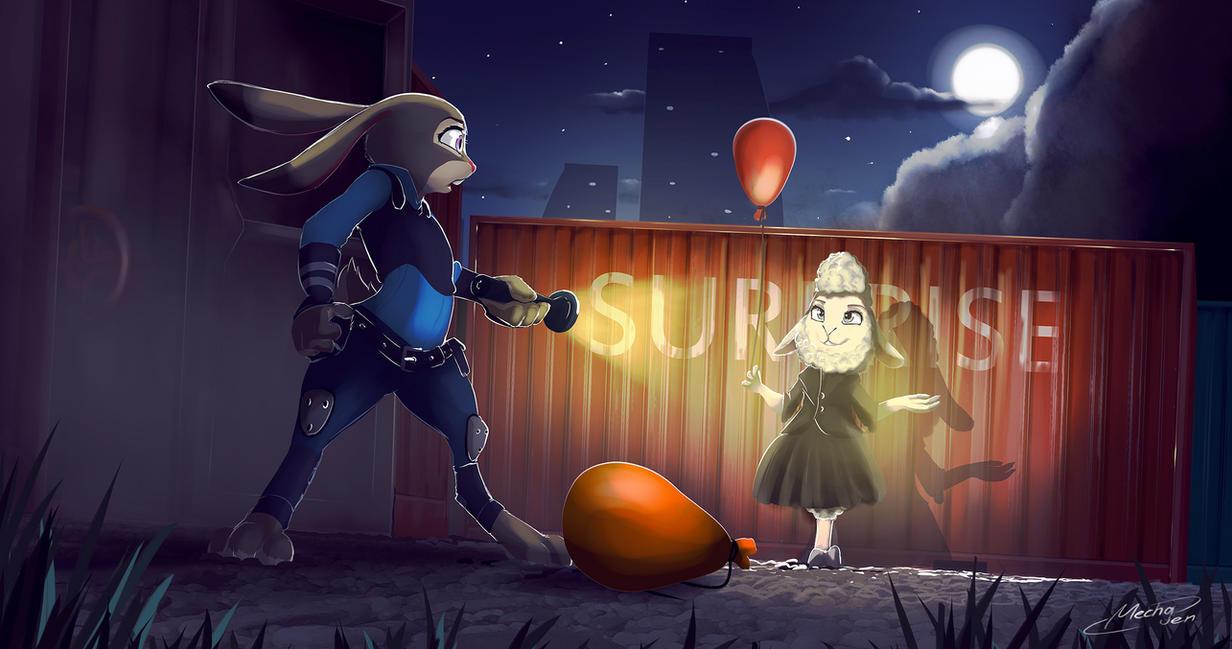 Surprise! by Mechagen