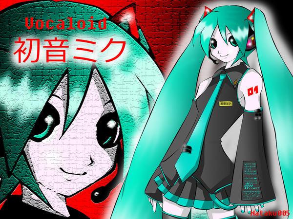 Vocaloid Hatsune Miku by Nataku005