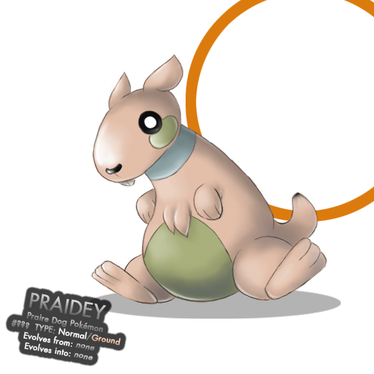 Fakemon Praidey - Contest by nintendo-jr