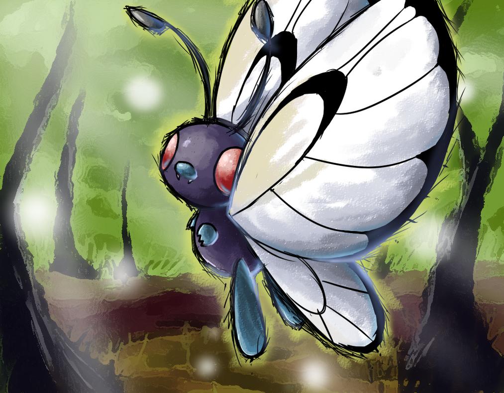 Butterfree Pokemon HD Wallpaper - Free HD wallpapers, Iphone ...
