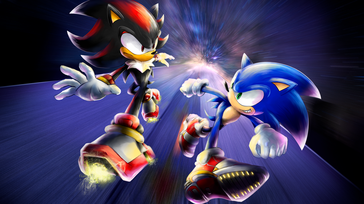 2 player online games sonic vs shadow