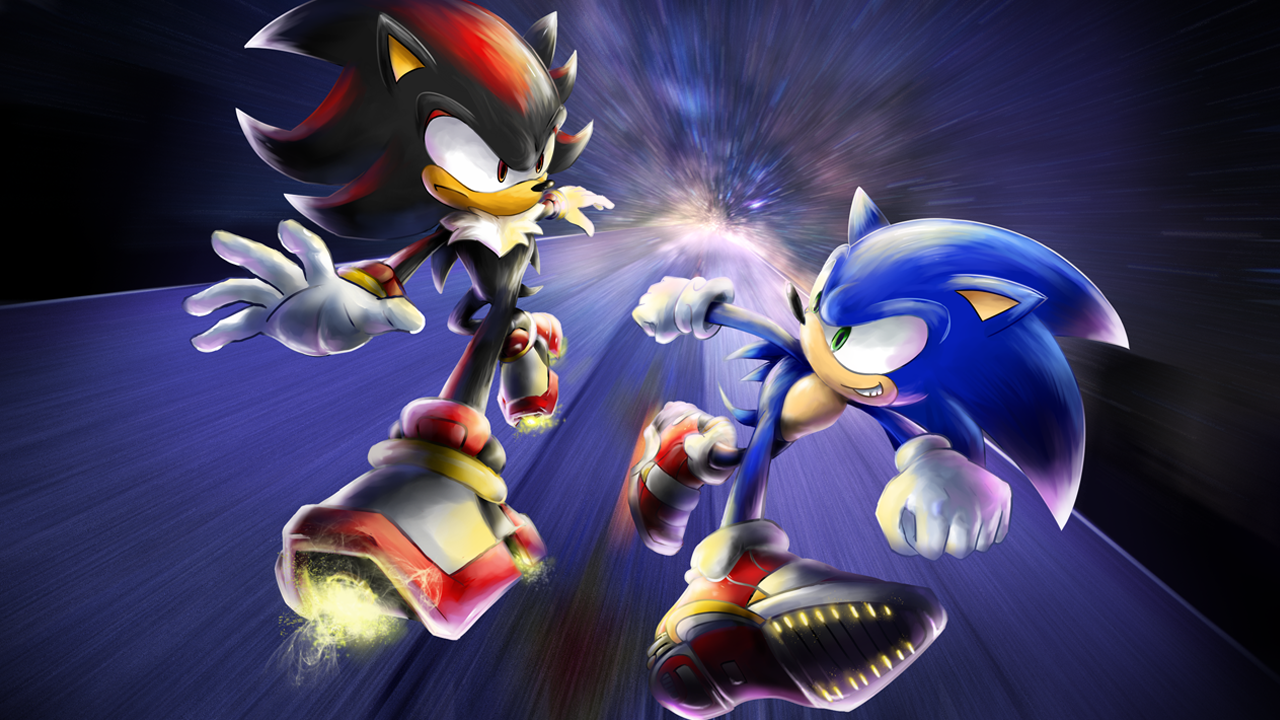 Sonic vs Shadow! by nintendo-jr on DeviantArt