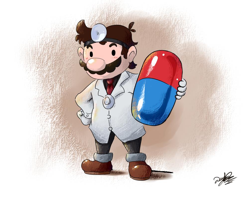 Dr Mario, puzzle specialist by nintendo-jr