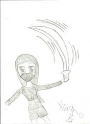 Ninja by YourForbiddenTruth