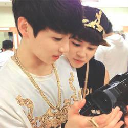 BTS Jungkook + Jimin by hsanghyuks