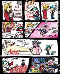 How to defeat Edward Elric by cme