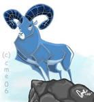Mr. Blue ram