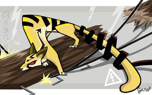 Shock Civet by cme