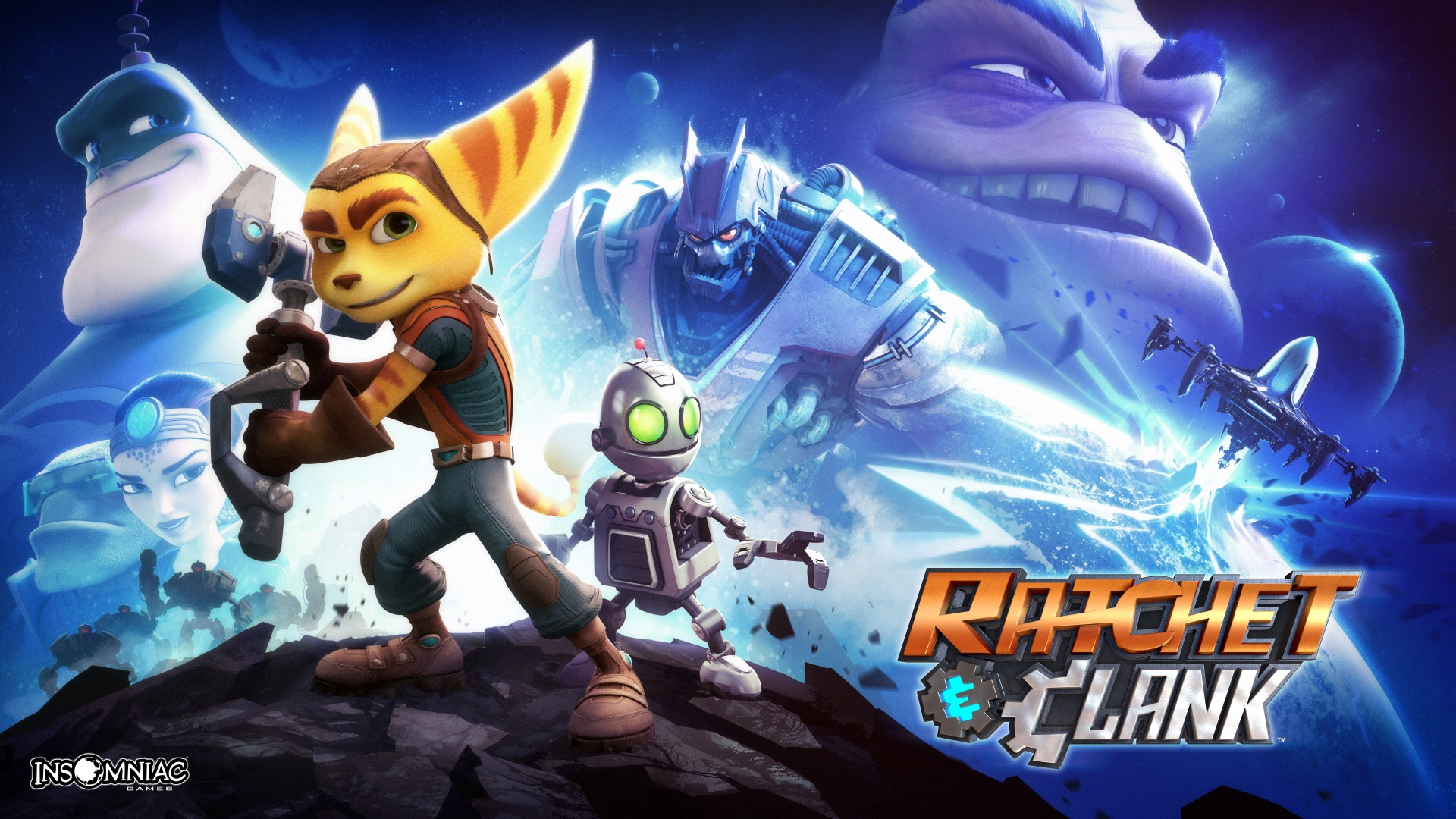 Ratchet And Clank Ps4 Wallpaper By Caprice1996 On Deviantart