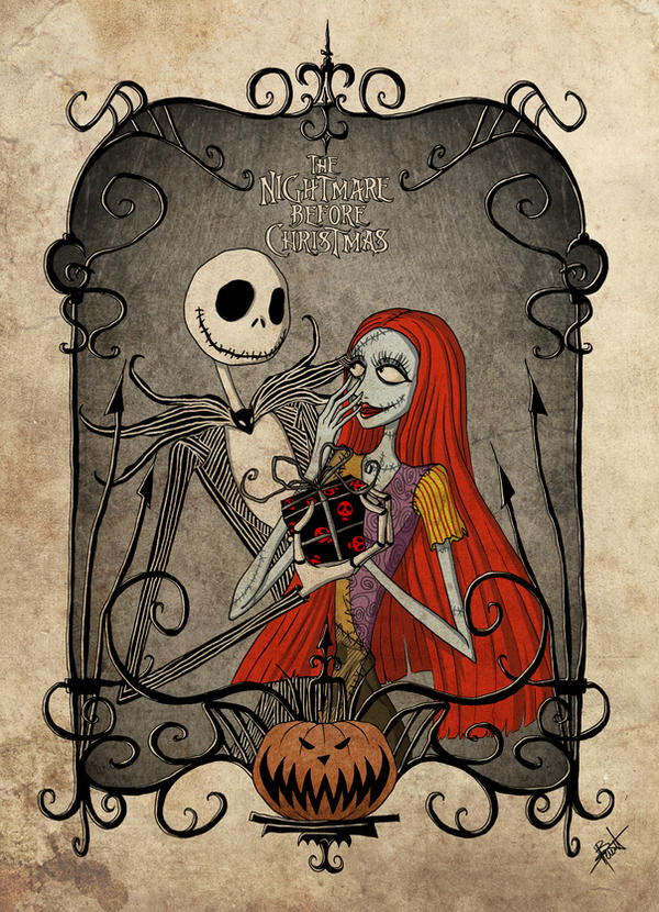 Nightmare Before Christmas by obscureBT on DeviantArt
