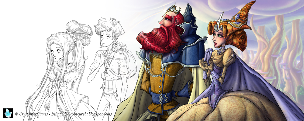 Princesa Blanca by obscureBT
