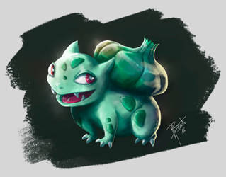 Pokemon - Bulbasaur by obscureBT
