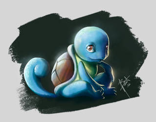 Pokemon - Squirtle by obscureBT
