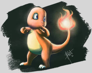 Pokemon - Charmander by obscureBT