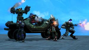 Legionarre Assault Scene 2