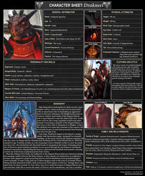 ESO: Drakneel Ignotius OC. by CommanderNova702