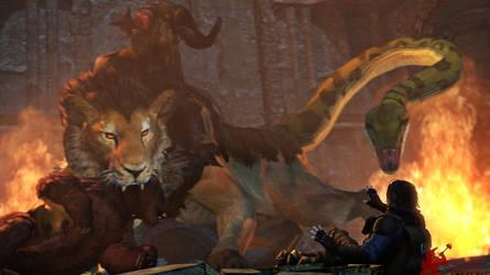 The Elder Scrolls Bestiary - Chimera...